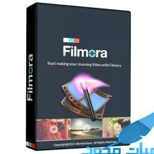 filmora - برنامج Wondershare Filmora للمونتاج