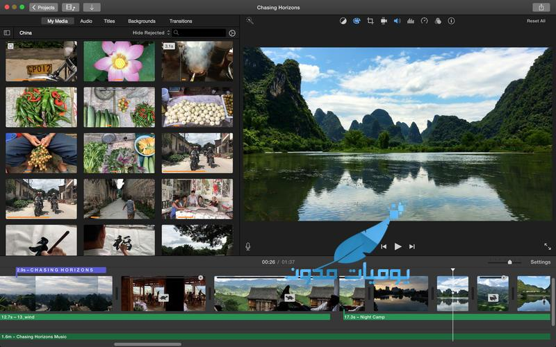 iMovie - iMovie افضل تطبيق لتصميم و تعديل الفيديو