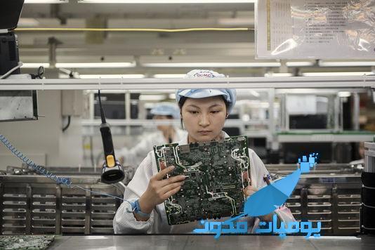 تستبدل أيادي العمال بالأذرع الميكانيكية لتخفيض التكاليف - فوكسكون : تستبدل أيادي العمال بالأذرع الميكانيكية لتخفيض التكاليف